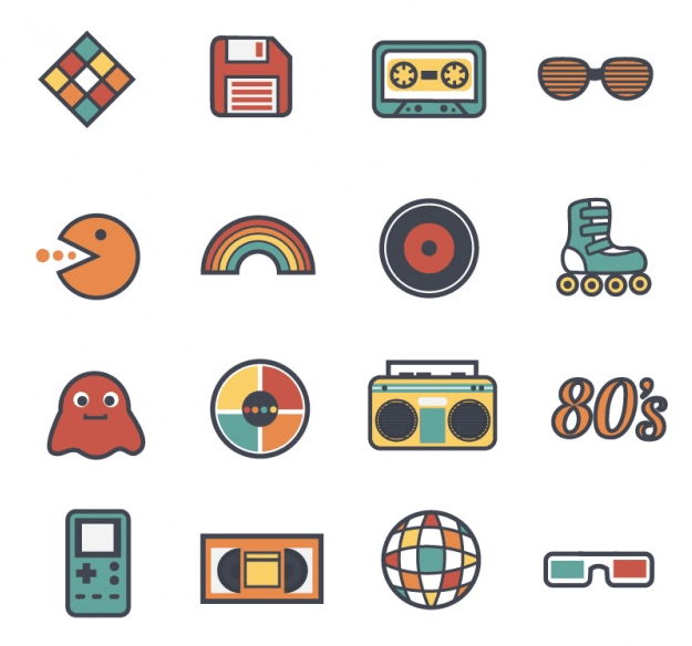 80s graphics