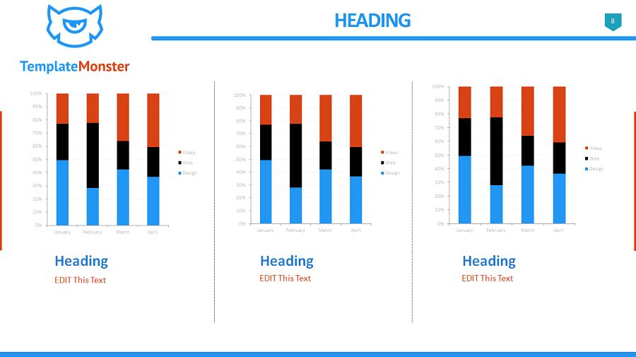 free presentation slides template