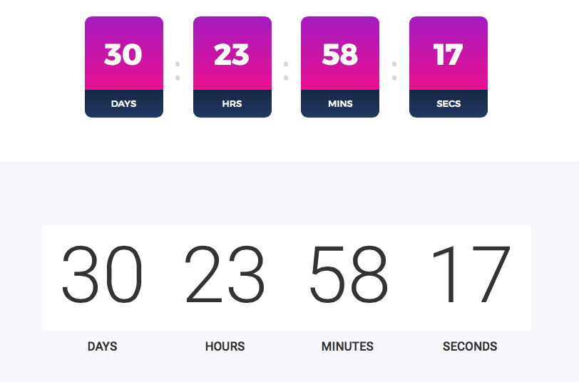Countdown Timer Preview
