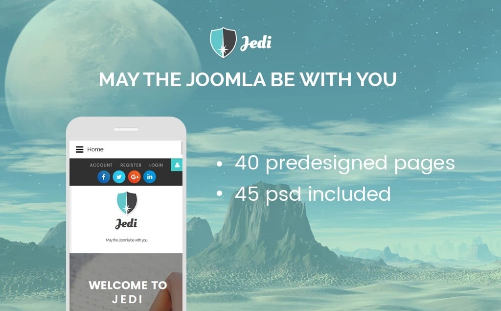 multifunctional Joomla theme