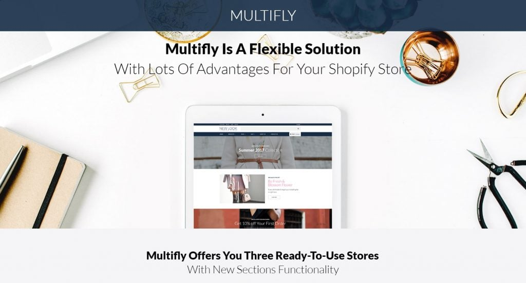 multifunctional Shopify theme