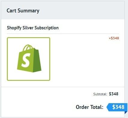 silver plan shopify