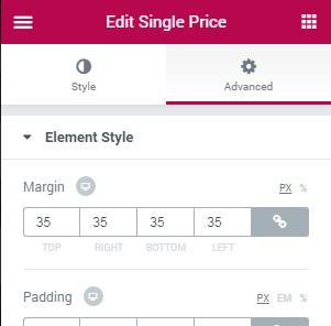 custom single product page