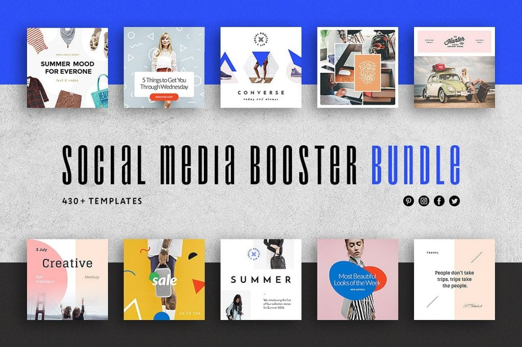 social media brochure template - free business broshure templates by freepik and flaticon