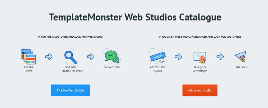 web studio catalogue