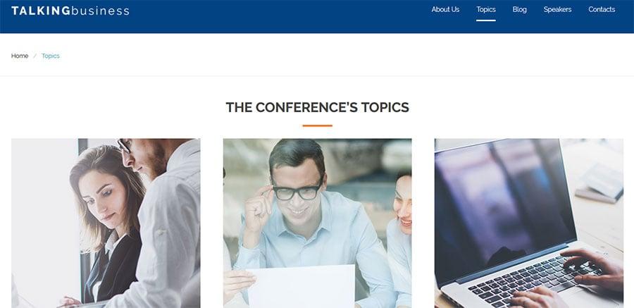 conference website