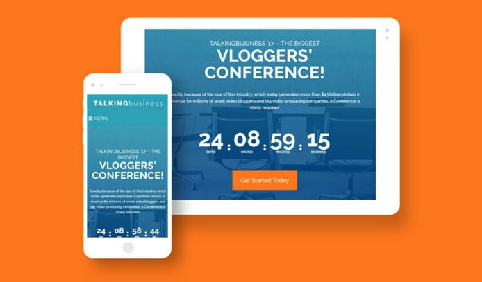 website conference