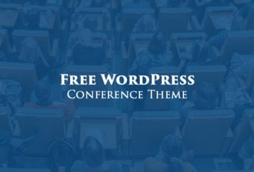 Fresh & Free WordPress Theme for Your Conference Website [Made in 2017]