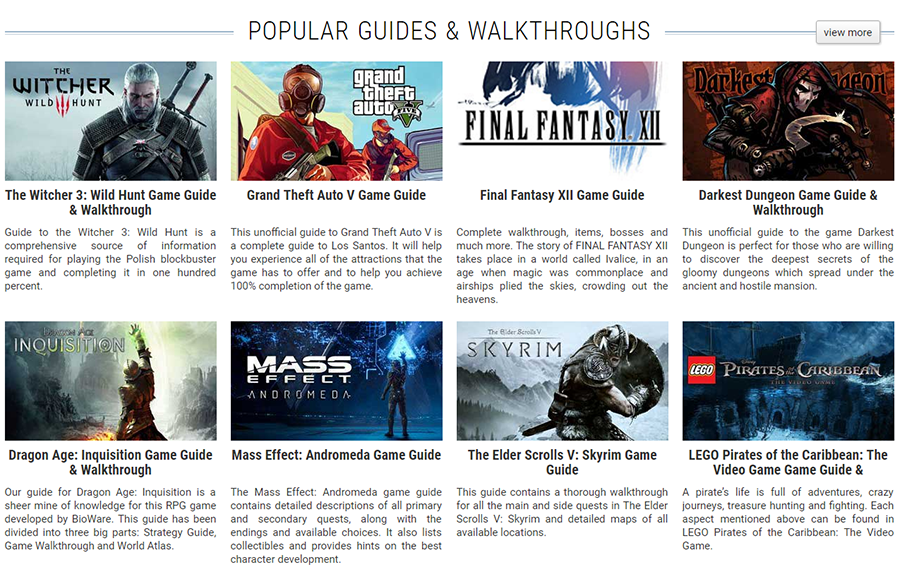 Create Professional Gaming Guides