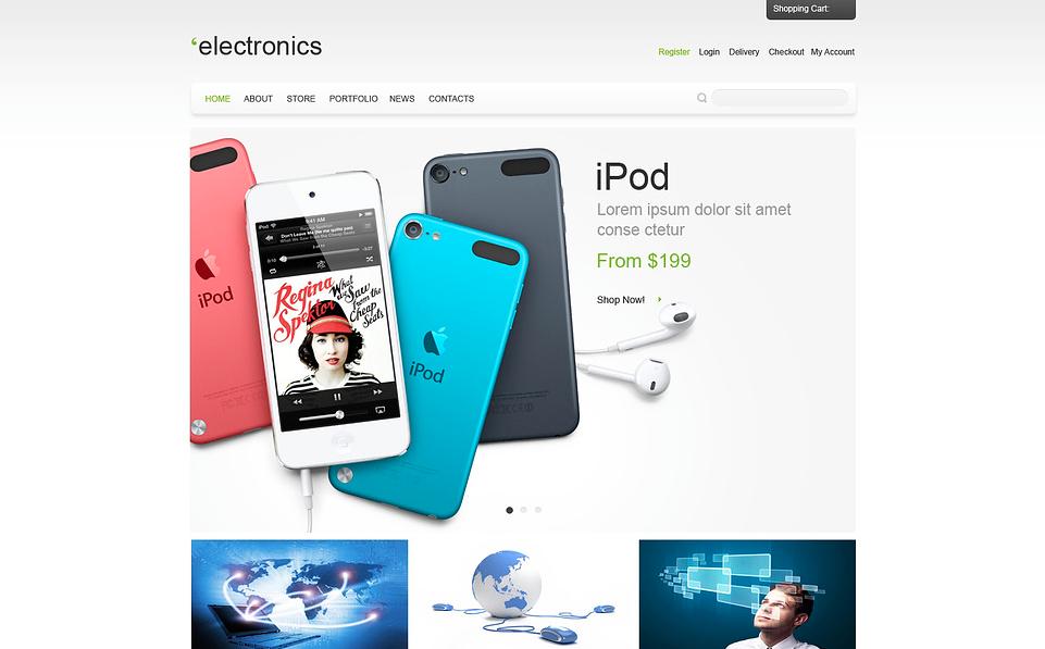 Responsive Electronics Store WooCommerce Theme