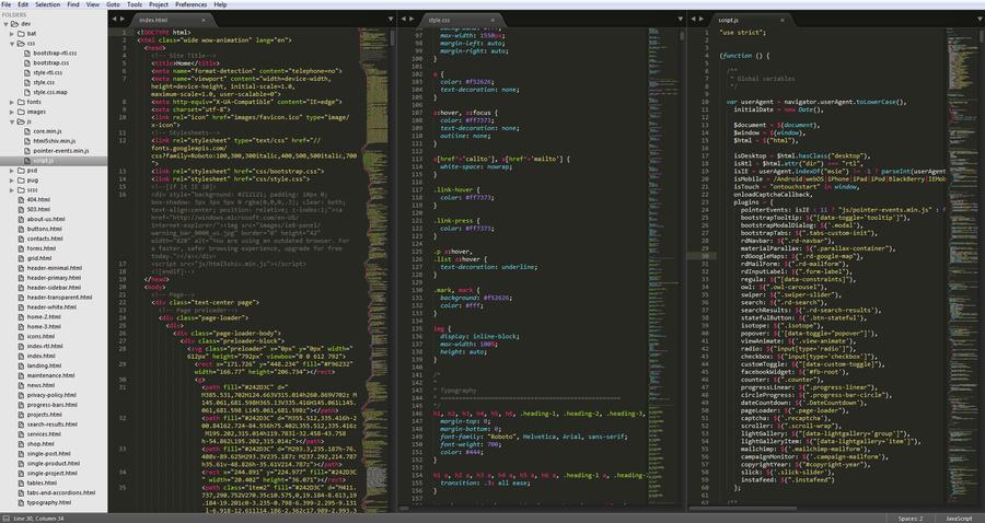 code text editor