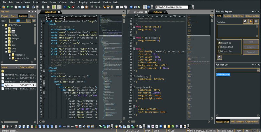 open source code editor