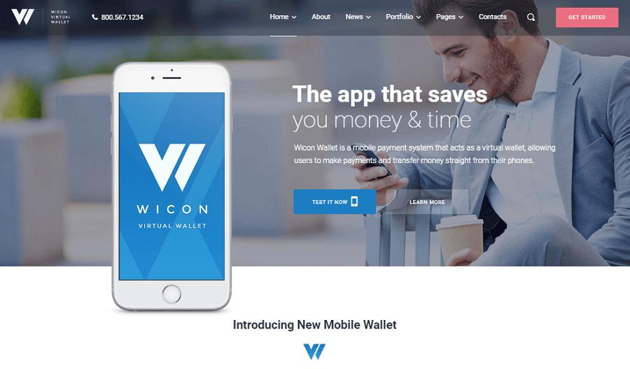 product launch WordPress themes
