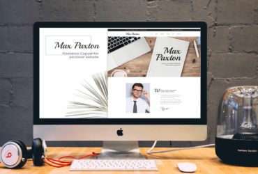 Free Portfolio WordPress Themes Collection Joined by Max Paxton Lite