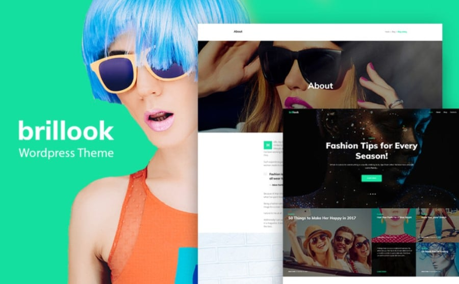 free wordpress fashion theme
