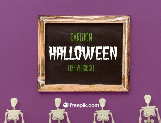 halloween freebies by Freepik 2017
