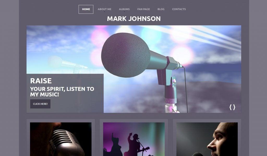 Singer - Performing WordPress Theme