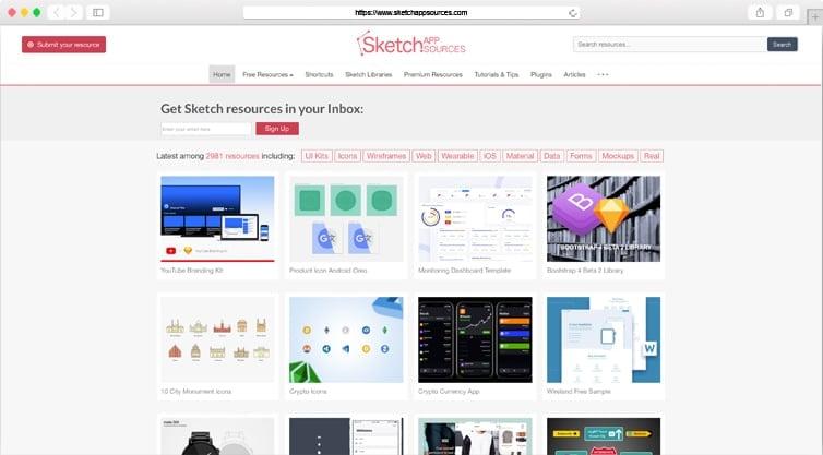 Sketch App Sources   Free Design Resources