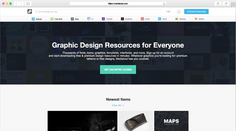 MediaLoot | Graphic Design Resources for Everyone