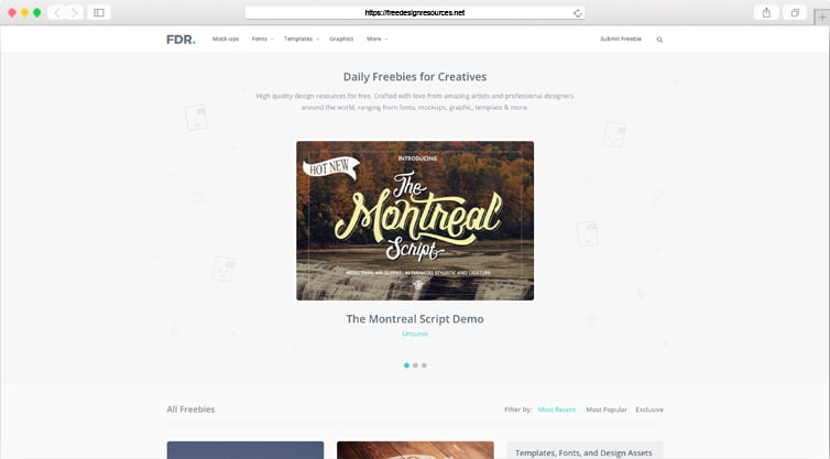 FreeDesignResources | Daily Freebies for Creatives