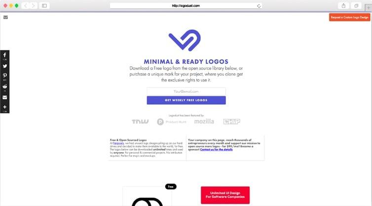 Logo Dust | Logo Designs for Your Startup