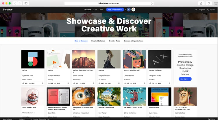 Behance | Show and Discover Creative Works