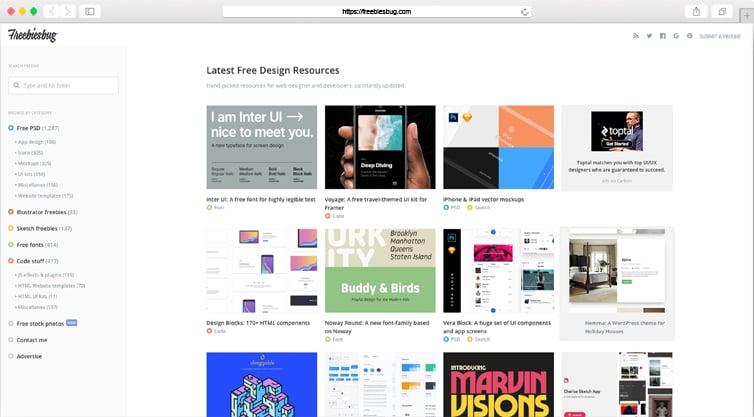 Fribiesbug | Free Web Design Resources