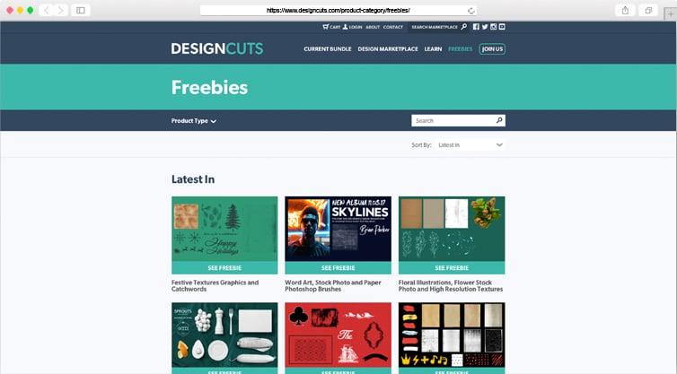 Design Cuts | Design Freebies Archive