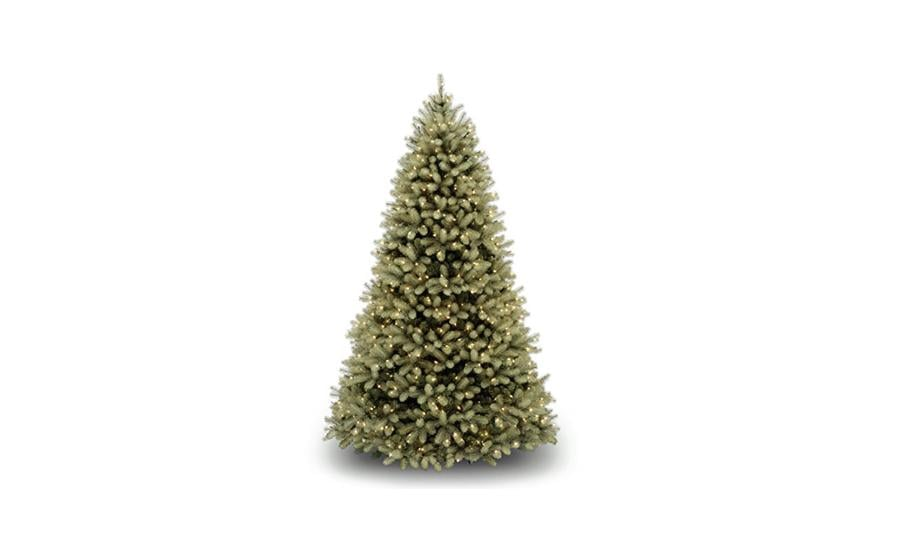 29. 7.5 Foot National Tree with 750 Dual Color LED Lights and On/Off Switch