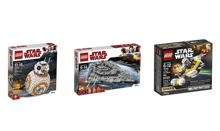 LEGO Star Wars: 10% to 50% off