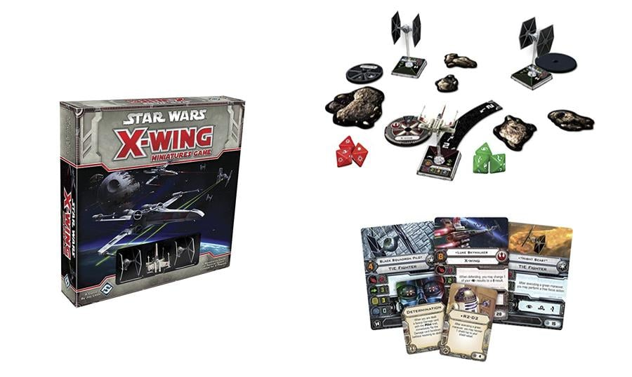 18. Star Wars X-Wing Miniatures Game Core Set
