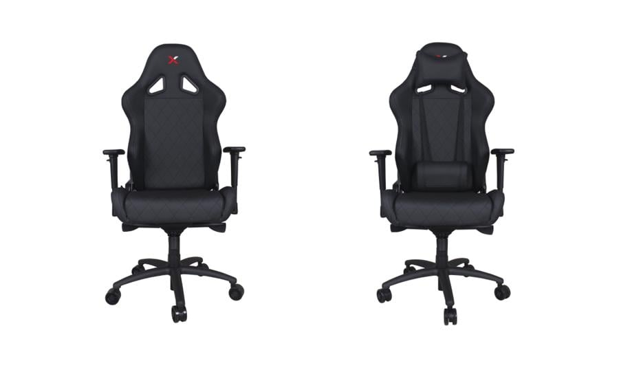 Black Gaming and Lifestyle Chair by RapidX