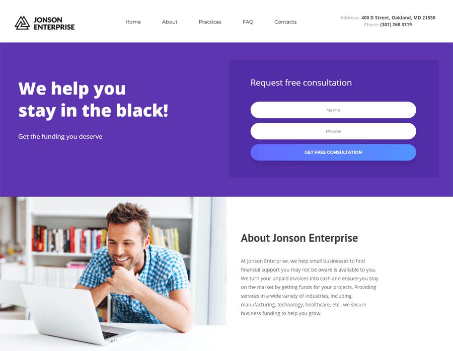 Website for guys