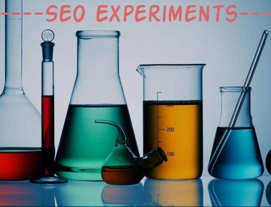 SEO Experiments