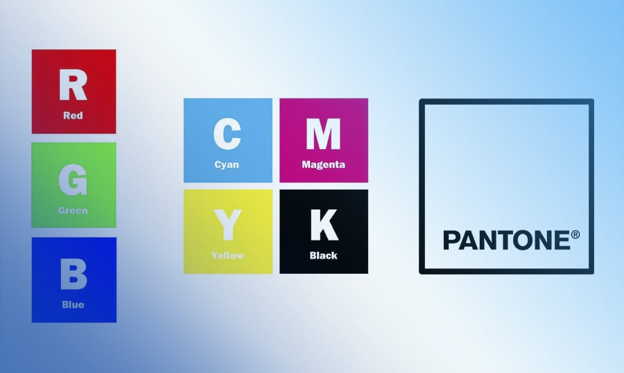 The Rgb Cmyk And Pantone Difference Guide