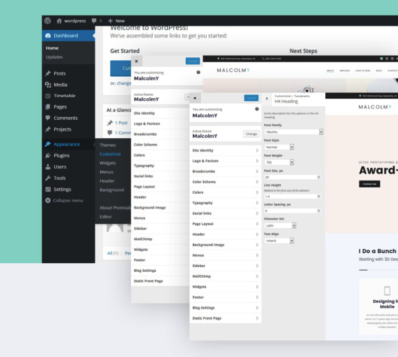 WordPress Live Customizer