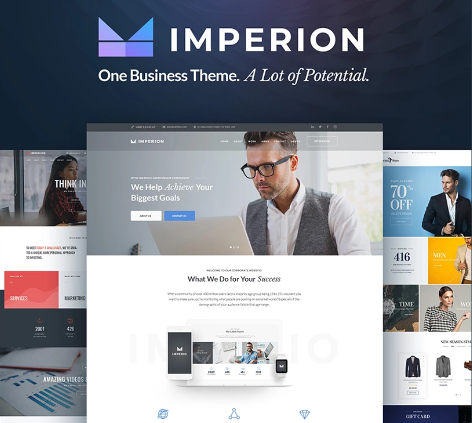 Multipurpose WordPress Templates