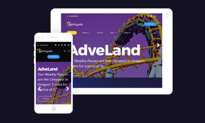 Amusement Park Free WordPress Theme