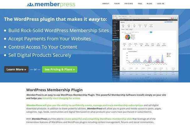 MemberPress WordPress Membership Plugins