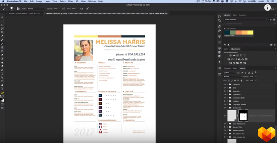 The Ultimate Guide To Creating A Photoshop Resume Of Your Dreams