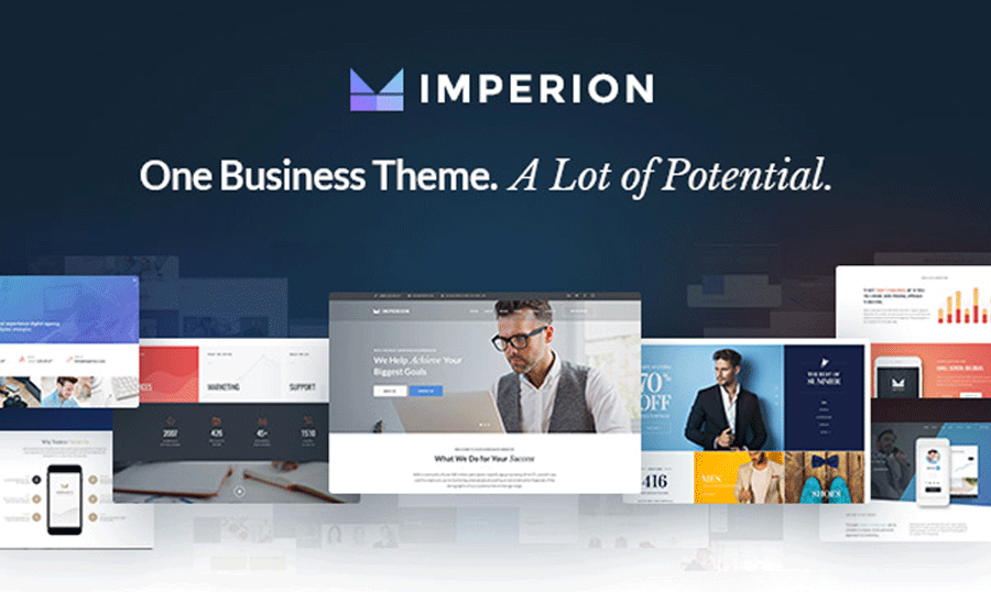 Imperion Multipurpose Wordpress Theme For Business Finance