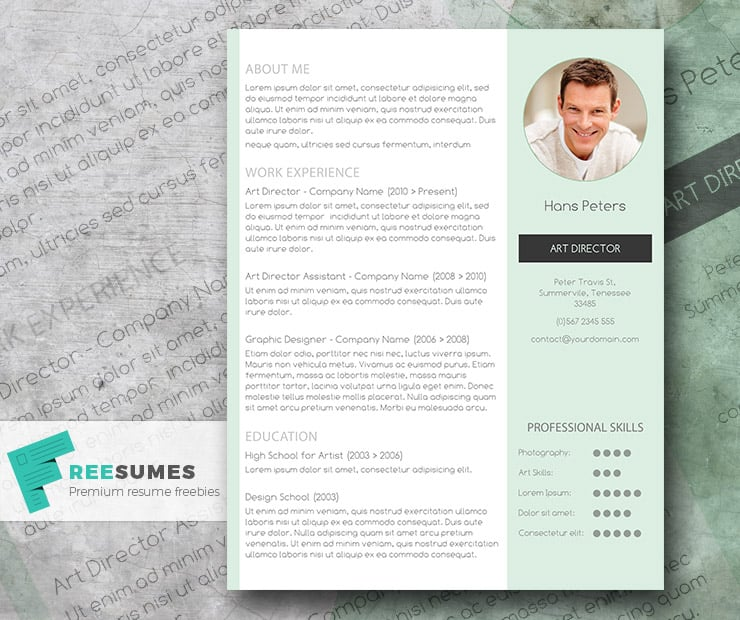 Cv Templates | 15 Jaw Dropping Microsoft Word Cv Templates Free To Download