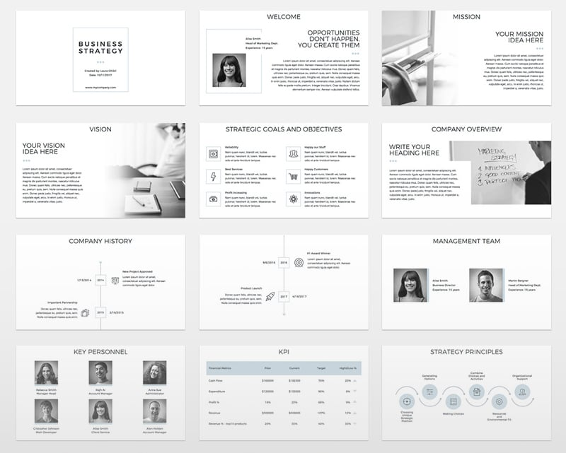 The Best Annual Report Presentation Templates To Admire Your Boss