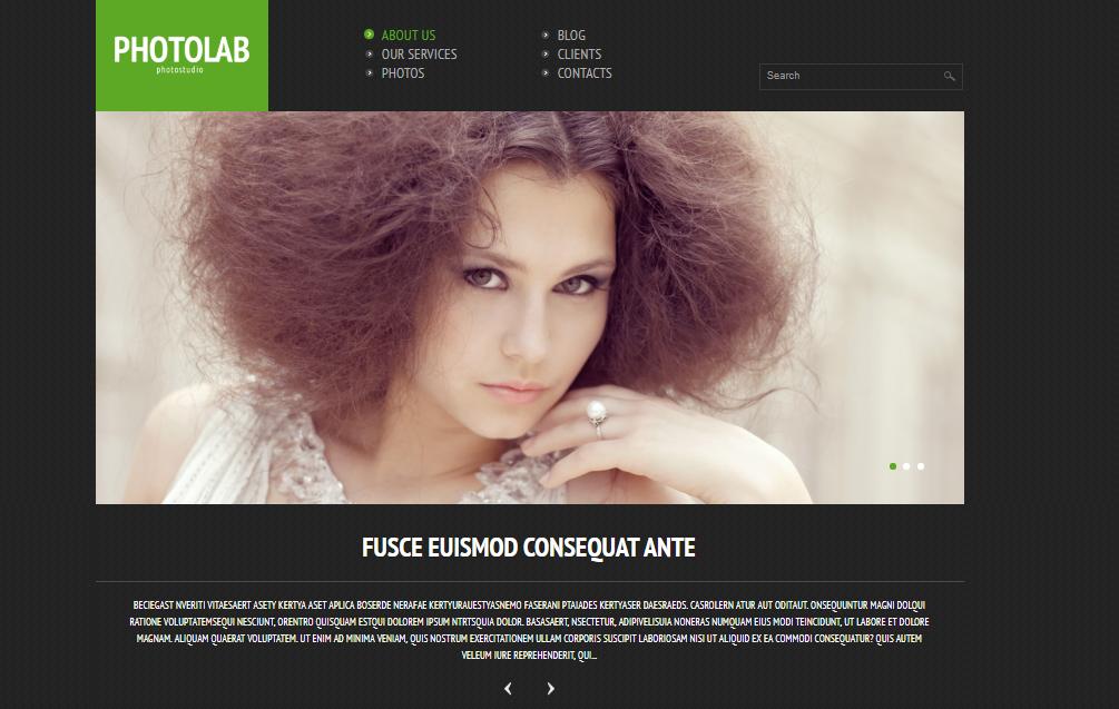 Photo Studio Responsive WordPress Theme