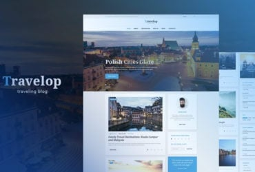 Travelop Lite Travel Photo Blog Free WordPress Theme