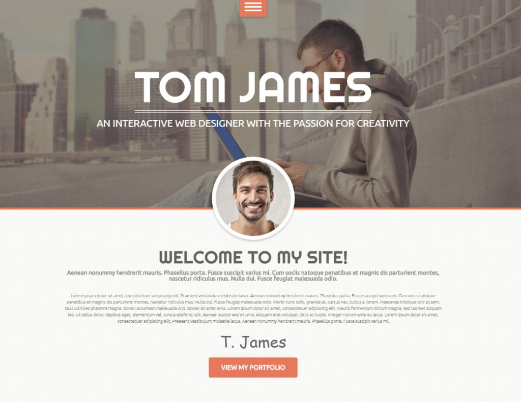 Web Designer WordPress Theme