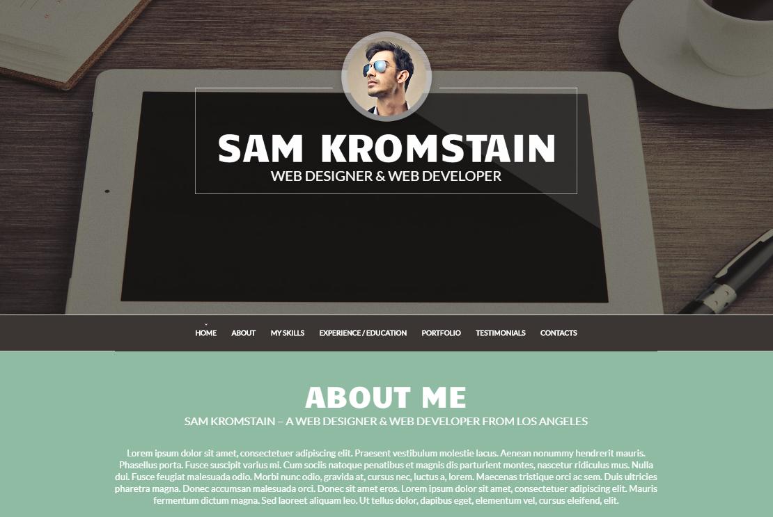 WordPress CV Themes to Help You Grab That Job! - MonsterPost