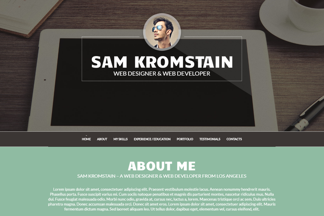 wordpress cv themes to help you grab that job