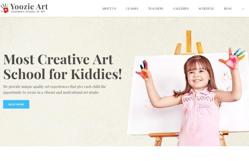 Yoozie Children Art Theme