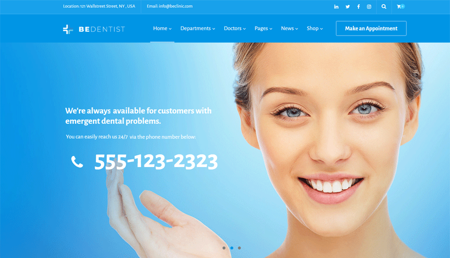 Medical WordPress Theme